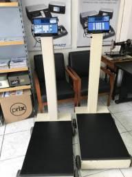 Balança Toledo 2124 Capacidade 100kg x 20g plataforma 49x71cm