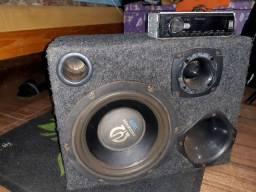 Vendo caixa e toca cd Pioneer