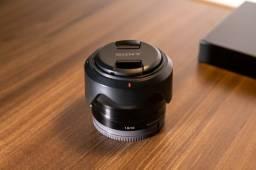 Lente Sony 35mm F1.8 OSS aps-c Super Nova