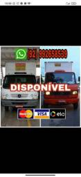 Xyay fretes mudanças e transporte de carga em geral caminhão baú