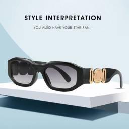 Óculos de Sol Medusa Black Gold