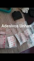 Título do anúncio: 10 Cartelas Adesivo Unhas p/20R$