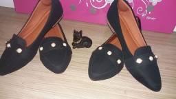 Aline modas sapatos valores Especiais n°34 ao 39