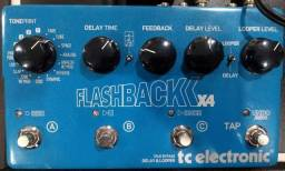 Pedal De Guitarra Tc Electronic Flashback X4 (Mixer Instrumentos Musicais)