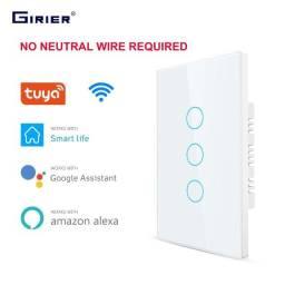 Interruptor Wifi Duplo Girier (Alexa e Google Home)
