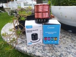 Mini Caixinha Som 887 Bluetooth Portátil Usb Mp3 P2 Sd Rádio Fm A32