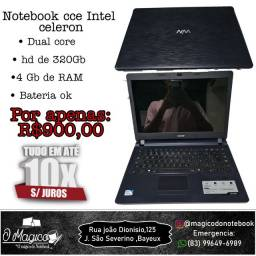 Notebook cce dual core