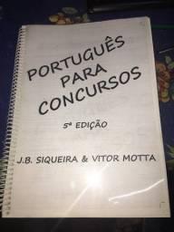 Apostila de português - pré-militar