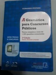 Livro a gramática para concursos públicos