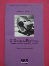 Título do anúncio: Livro Portfolio SBS 9 O Ensino da Pronúncia: Por quê, O quê, Quando, Como