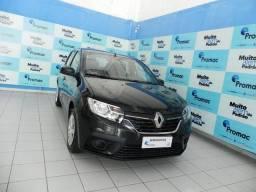 Título do anúncio: Renault Sandero Life Flex 1.0 12v 5p Mec.