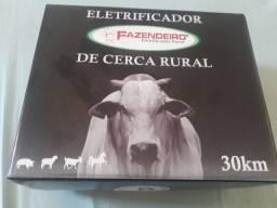 Cerca elétrica rural