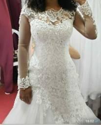 Vestido de noiva barato! É aqui!