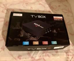 TV BOX LACRADO NA CAIXA