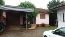 Terreo com duas casas  em Canabarro Teutônia