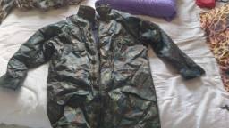 Jaqueta camuflado impermeável