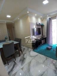 Apartamento com 2 dormitórios à venda, 50 m² por R$ 212.700 - Panorama (Polvilho) - Cajama