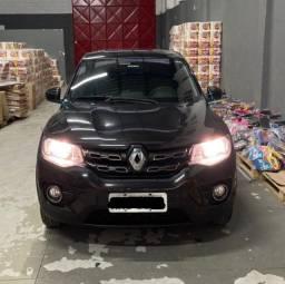 Renault Kwid Intense Preto 2018 Muito Novo!