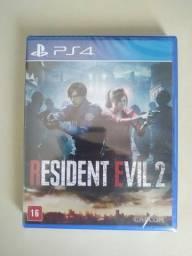 Resident Evil 2 Remake Ps4 Mídia Física Novo Lacrado