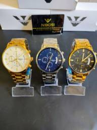 Relógio luxo masculino original Nibosi