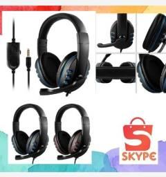 Fone Headset Gamer Para Pc Celular Com Microfone P2