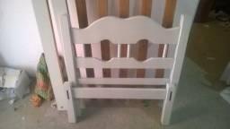 Vender logo cama madeira pura solteiro
