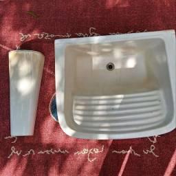 Tanque d louça usado com coluna