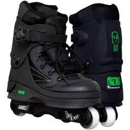 Patins Traxart Ice Daciel Monster Preto 8