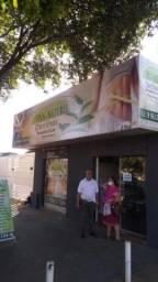 Vendo loja de produtos naturais.