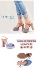Sandália beira rio