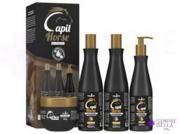 Título do anúncio: Diga adeus aos cabelos fracos e sem crescimento! Kit Capil Horse.
