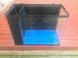 Aquário sump lateral 66 litros