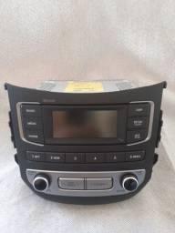 Rádio hb20 sem uso