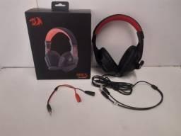 Headset Gamer Redragon Ares H120 Novo (Só Venda)