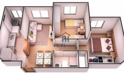 Título do anúncio: Apartamento com 2 dormitórios, 40 m² por R$ 174.000 - Morada do Ouro - Cuiabá/MT - ENTREGA