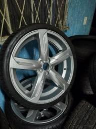 Título do anúncio: Roda aro 20 com pneu 225 35ZR20