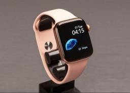Relogio Smartwatch Iwo 13 T500s  Rose 44mm Ios Android