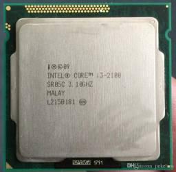 Processador 1155 - Intel Core - I3 2100 3.10ghz