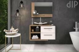 Kit móveis de banheiro fábrica própria Mdf18mm lindo!!