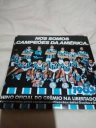 Disco de vinil Grêmio - Libertadores 83