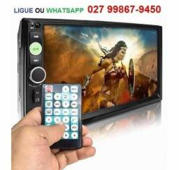 Multimídia Mp5 Player Automotivo Dvd, Som Radio Usb Mp3 Bluetooth