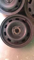 Roda de ferro Volkswagen aro 15 4 furos ACEITO CARTÃO