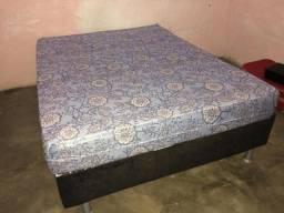 Cama box casal com colchão D45