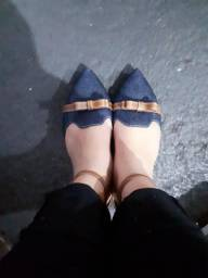 Sapatilha Jeans n° 38