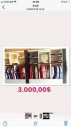Armario de roupa na promoção. mil cada um