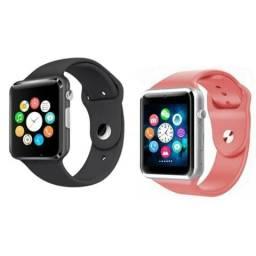 Relógio celular smartwatch modelo iPhone cartão e chip;) entrega grátis