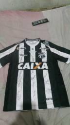Camisa oficial do Ceará autografada