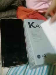 Celular Lg k4 novo comprei ontem na loja