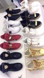 Tênis Giusepe zanotti Gucci Versace