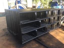 Porteiras ferro madeira